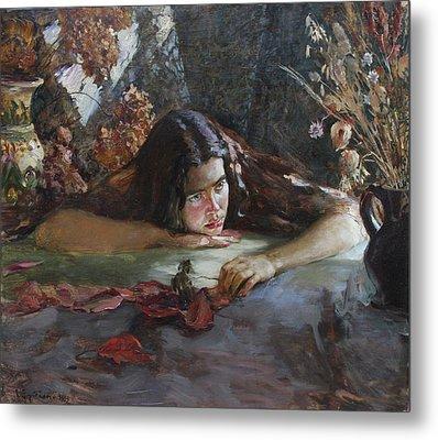 Autumn Metal Print by Korobkin Anatoly