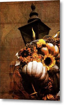 Autumn Light Post Metal Print by Dan Sproul