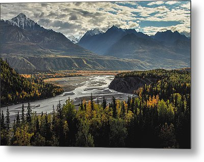 Autumn Light Metal Print by Roger Clifford