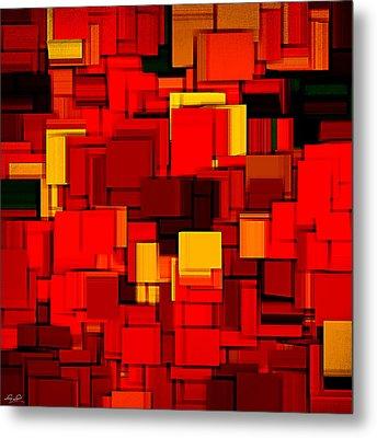 Autumn Modern Abstract Xv Metal Print