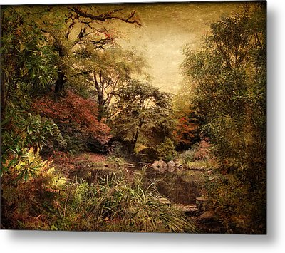 Metal Print featuring the photograph Autumn On Canvas by Jessica Jenney