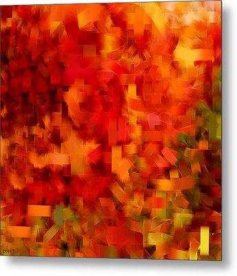 Autumn On My Mind Metal Print by Lourry Legarde