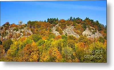 Autumn Panorama Metal Print by Lutz Baar
