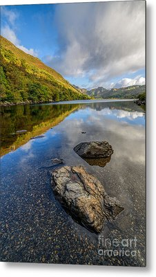 Autumn Reflection Metal Print by Adrian Evans