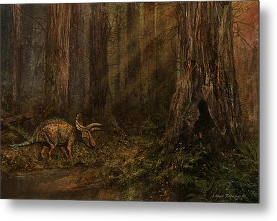 Autumn Refuge Metal Print by Angie Rodrigues