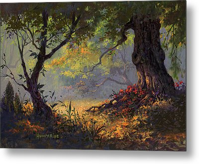 Autumn Shade Metal Print by Michael Humphries