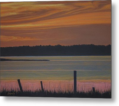 Autumn Sky Metal Print