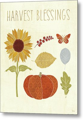 Autumn Song Vi Metal Print by Veronique Charron
