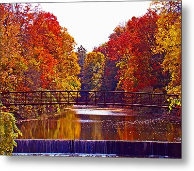 Autumn Splendor Metal Print by Al Bourassa