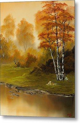 Autumn Splendor Metal Print by C Steele
