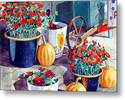 Autumn Still Life Metal Print by Mick Williams