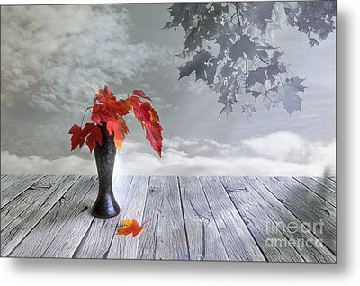 Autumn Still Life Metal Print by Veikko Suikkanen