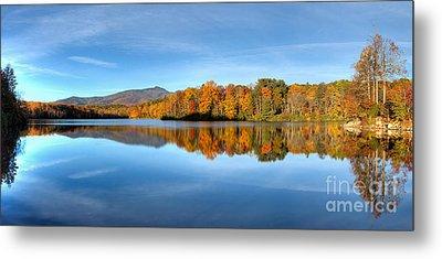 Autumn Sunrise At Price Lake Metal Print