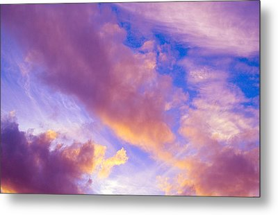 Metal Print featuring the photograph Autumn Sunset by Naomi Burgess
