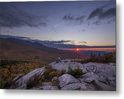 Autumn Sunset Over Sugarloaf Mountain Metal Print