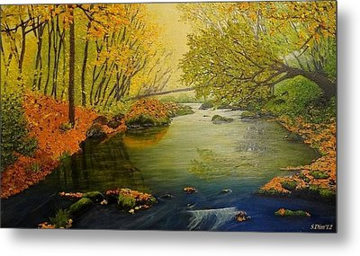 Autumn Metal Print by Svetla Dimitrova