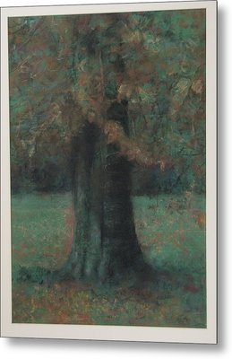 Autumn Tree Metal Print by Paez  Antonio