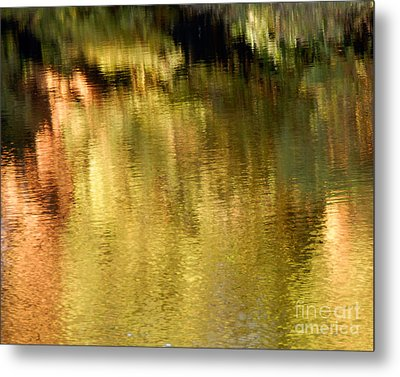 Metal Print featuring the photograph Autumn Water by Lee Craig