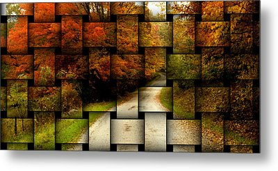 Metal Print featuring the photograph Autumn Weave by Katie Wing Vigil