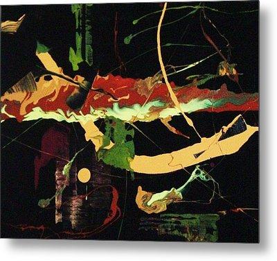 Autumn Winds Metal Print