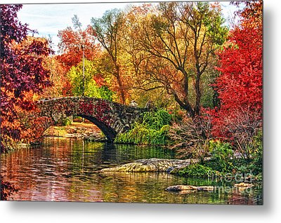 Autumn Wonderland Metal Print by Nishanth Gopinathan