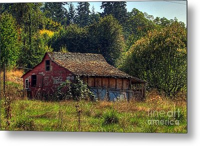 Autumnal Hdr Metal Print by Chris Anderson