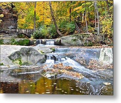 Autumnal Wonderland Metal Print by Frozen in Time Fine Art Photography
