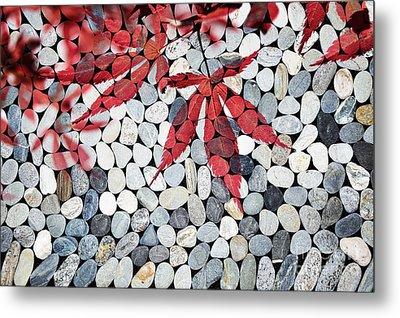 Autumnal Zen Metal Print