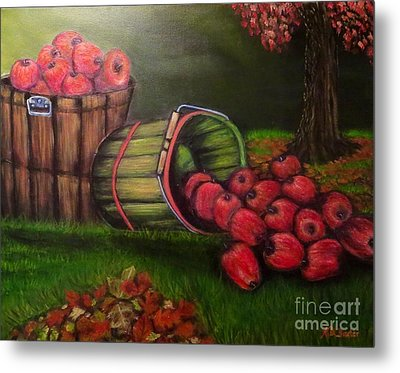 Autumn's Bounty In The Volunteer State Metal Print by Kimberlee Baxter