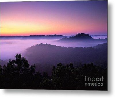 Auxier Ridge Dawn - Fm000023 Metal Print by Daniel Dempster