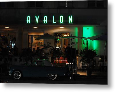 Avalon Hotel Metal Print