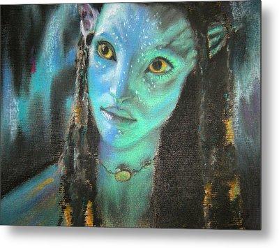 Avatar Metal Print by Lori Ippolito