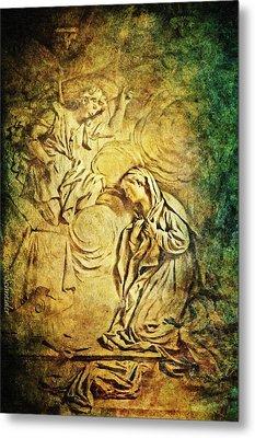 Ave Maria...gratia Plena Metal Print by Lianne Schneider