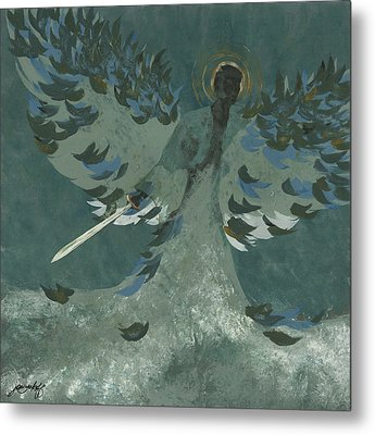 Avenging Angel Metal Print by John Wyckoff