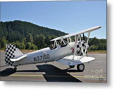 Metal Print featuring the photograph Aviation Dreams by Mindy Jo Bench