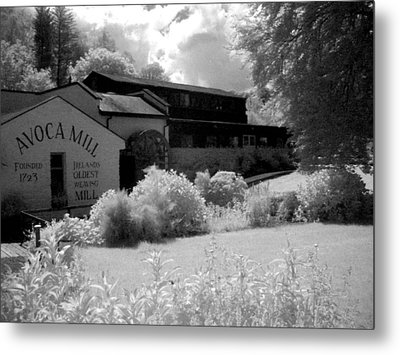 Avoca Mill Infrared Metal Print by Paulette Mortimer