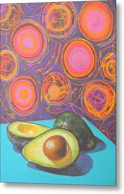 Avocado Delight Metal Print by Adel Nemeth