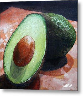 Avocados Metal Print by Steve Goad