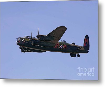 Avro 638 Lancaster At The Royal International Air Tattoo Metal Print by Paul Fearn