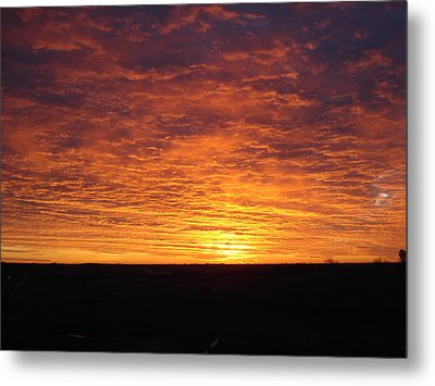 Metal Print featuring the photograph Awaiting The Dawn by J L Zarek