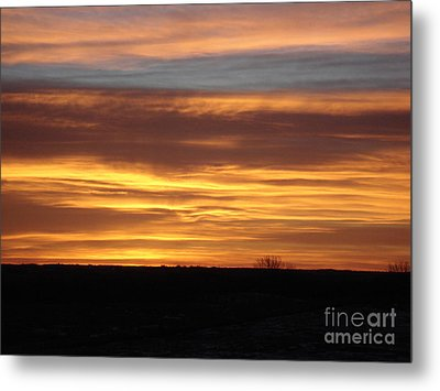 Awaken The Day Metal Print by J L Zarek