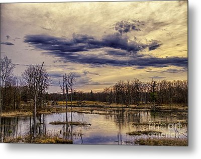 Away From It All Metal Print