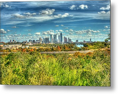 Awesome Austin Metal Print by Andrew Nourse