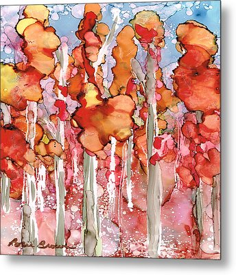 Awesome Autumn Metal Print by Rosie Brown