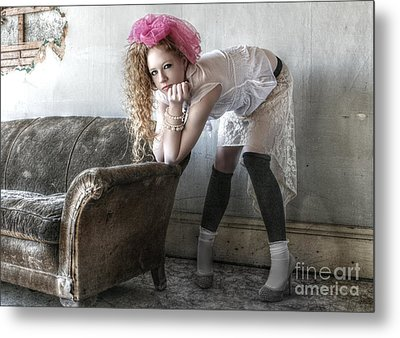 Awkwardly Pretty Metal Print by Deena Otterstetter