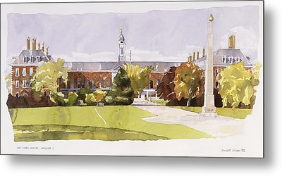 The Royal Hospital  Chelsea Metal Print by Annabel Wilson