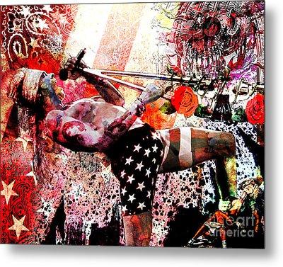 Axl Rose Original Metal Print