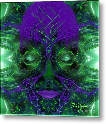 Ayahuasca Experience - Fantasy Art By Giada Rossi Metal Print by Giada Rossi