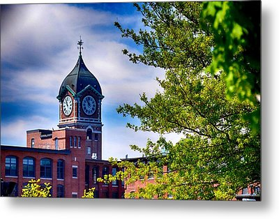 Ayer Mill In Lawrence Metal Print by Tricia Marchlik