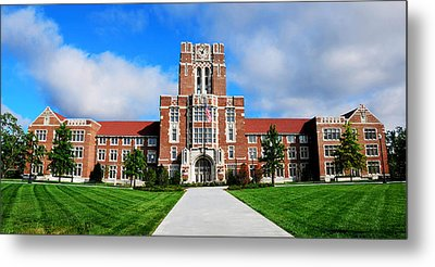 Metal Print featuring the photograph Ayres Hall by Paul Mashburn